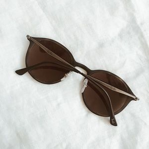 """b543fc164a7 Ray-Ban Accessories - FINAL FLASH- Ray-Ban Round """"LightRay"""" Sunglasses"""
